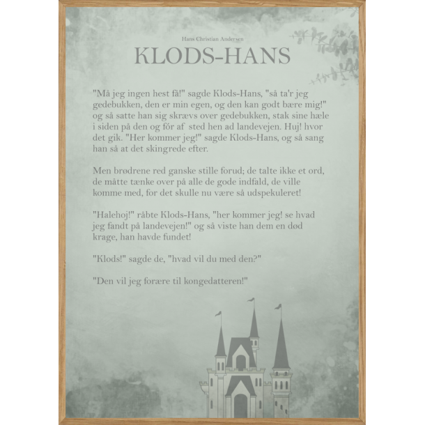 KLODS-HANS - THE STORY